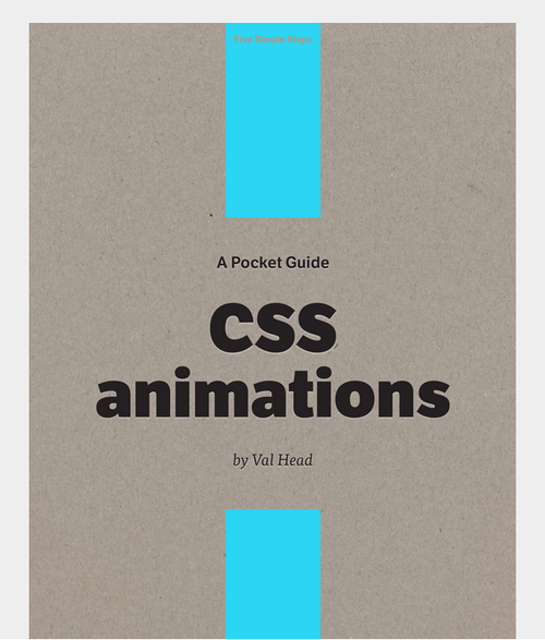 cover of the Pocket Guide to CSS Animation book