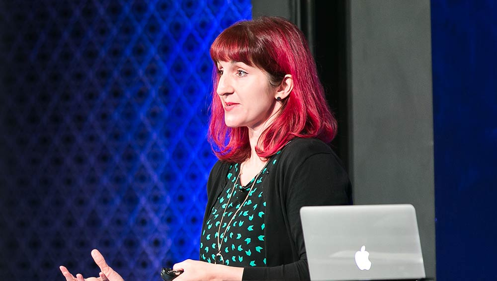 Val at Generate Sydney photo by Mike King TRICK Media Photography