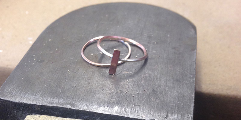 My two soldered wire rings
