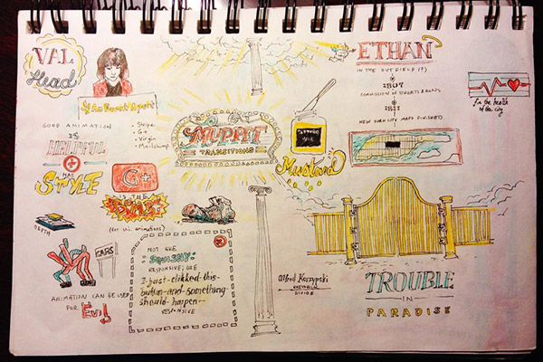 Val Head AEA Orlando Sketch Notes